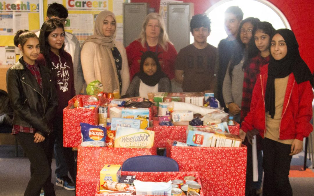 Small Heath Pupils Help the Homeless this Festive Season
