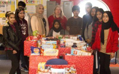Small Heath Pupils Help the Homeless this Festive Season