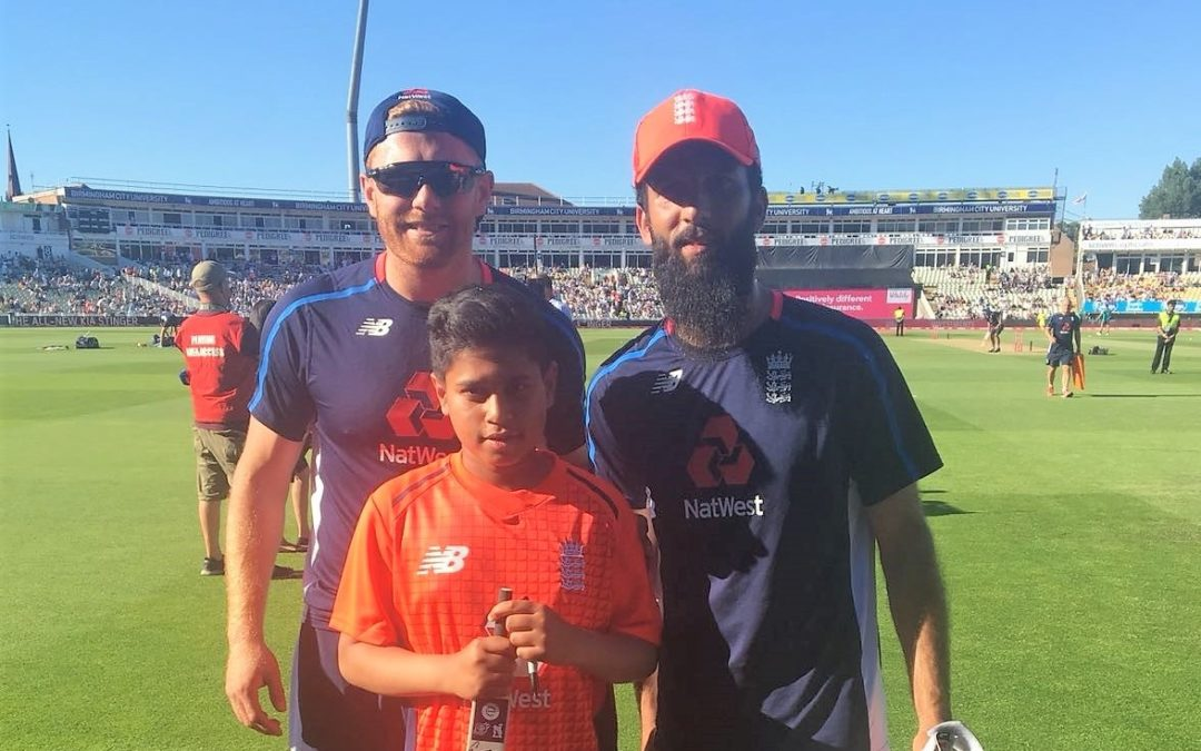 Cricket ace bowled over by leading England out at Edgbaston