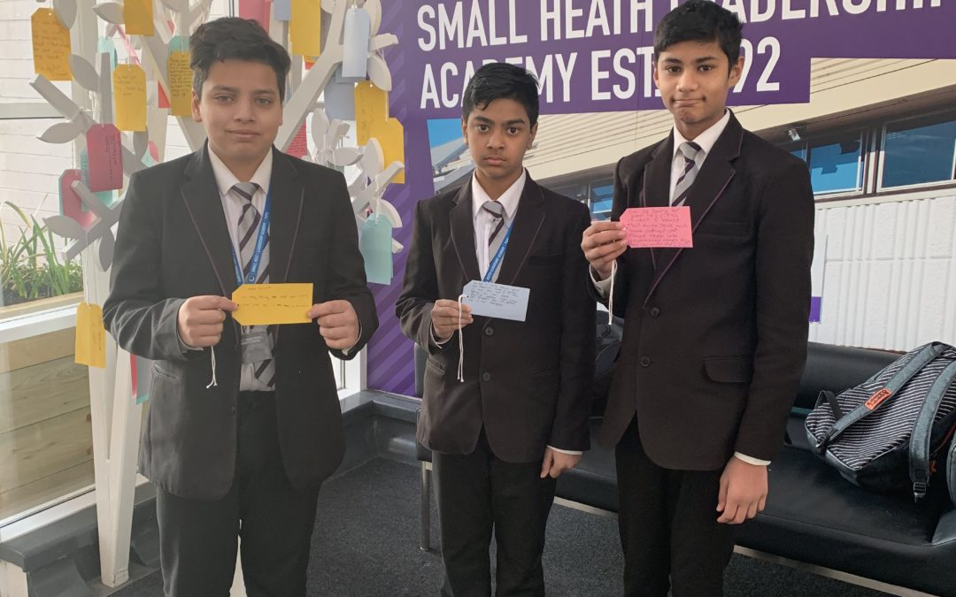 Small Heath pupils explore themes around genocide to mark Holocaust Memorial Day